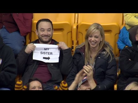 Video Gophers Kiss Cam Guy: Story Behind the Sign