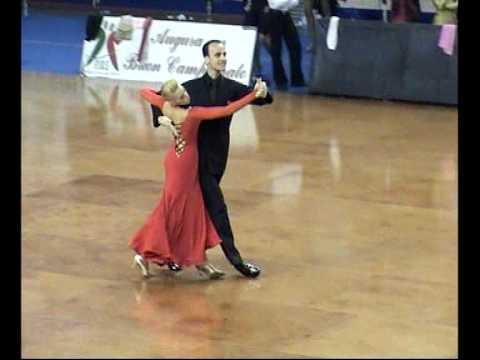 Tango - Campioni Italiani professionisti 2006 danze Standard D'Agostino Mirko e D'Amico Arianna