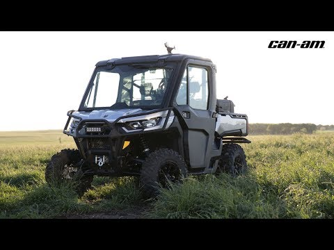 2020 Can-Am Defender Limited HD10 in Wilmington, Illinois - Video 1