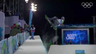 Shaun White Wins Men's Half Pipe Snowboarding - Vancouver 2010 Winter Olympics - dooclip.me