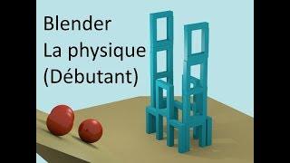 Blender TUTO : LA PHYSIQUE (Débutant)