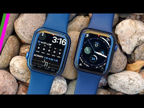 Apple Watch Series 7 Review for Sports and Fitness (vs Series 6) // Is there a difference?