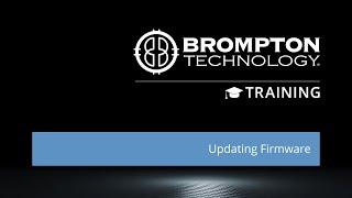 Quick Training: Updating Firmware