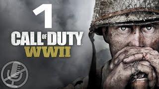 Call of Duty WW2 Прохождение Без Комментариев На Русском На ПК Часть 1 — День Высадки