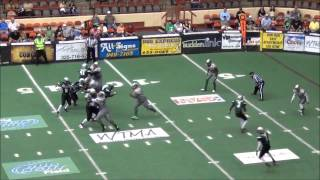 Joshua Davis Indoor football highlights