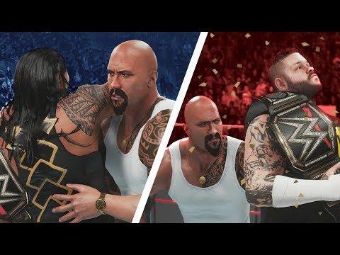 JEALOUS ROCK RETURNS TO COST ROMAN EVERYTHING! | WWE 2K19 Universe Mods (Custom Story)