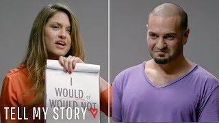 video thumbnail Are You Judging a Book By Its Cover? | Tell My Story, Blind Date