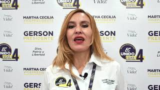 Esthela Pazmiño, Candidata Asambleísta Nacional del Ecuador 2021.