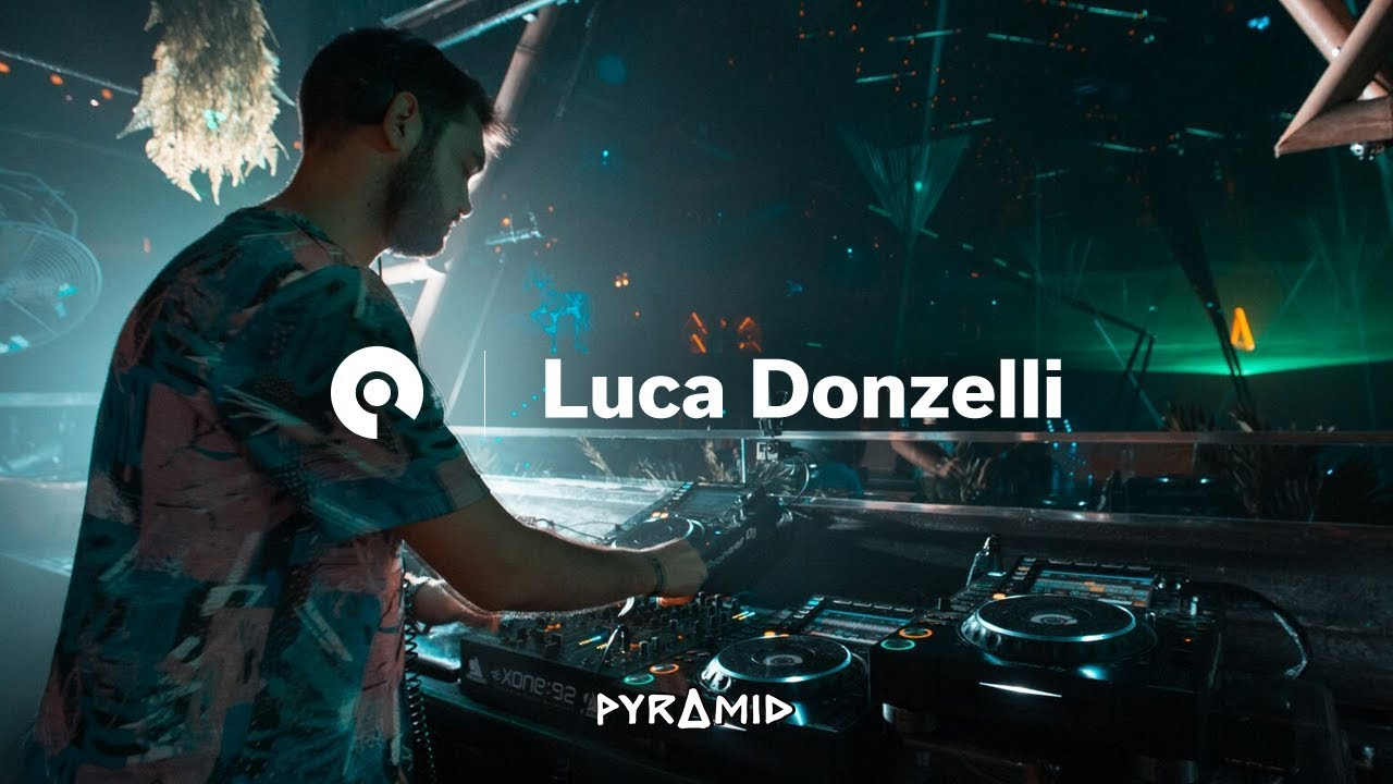 Luca Donzelli - Live @ Pyramid Opening Party 2018