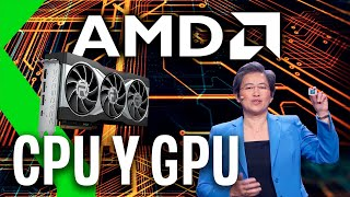 POTENCIA de SOBREMESA en un PORTÁTIL con AMD: AMD HX, 5000 MOBILE y RX 6000 en el CES 2021
