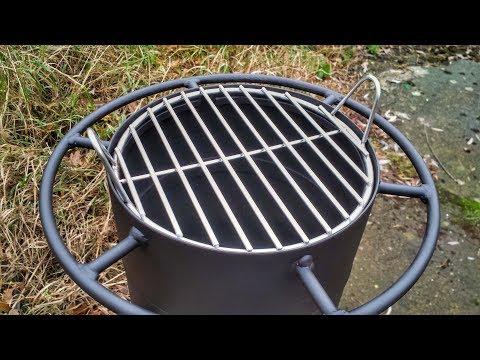 Edelstahl Grillrost selber bauen - Grillrost schweißen - WIG Schweißen