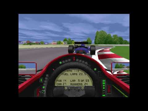 MicroProse Grand Prix 2 By Geoff Crammond Canadian Grand Prix Round 6 (F1 1994)