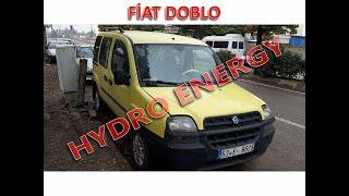 Fiat doblo 1.2 lpg + hidrojen yakıt tasarruf sistem montajı