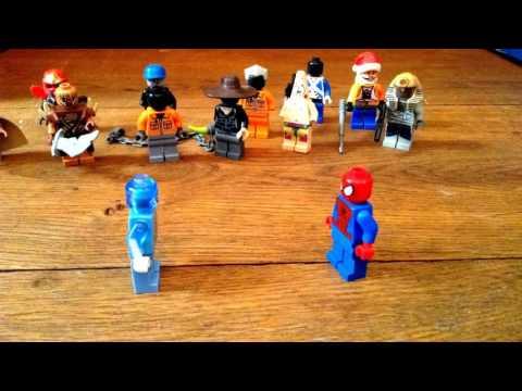 LEGO - The Amazing SpiderMan 2 - SpiderMan VS Electro (видео)