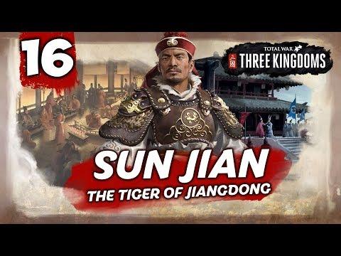 HIDDEN DRAGON! Total War: Three Kingdoms - Sun Jian - Romance Campaign #16