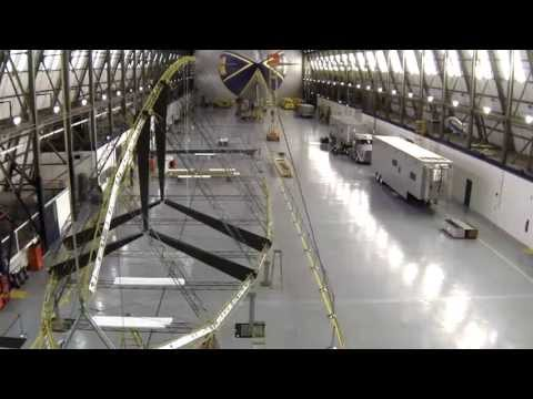 Watch Goodyear Build Its New Blimp-Replacing Zeppelin