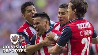 Chivas consiguió su estrella 12 tras vencer a Tigres 2-1 en la final - Univision