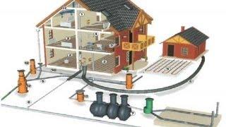 """2-ой этап строительства дома """"Подводка электричества, канализации, водопровода и отопления"""""""
