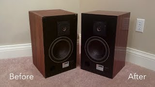 JBL 4301 Restoration Project - From beat up monitors to audiophile speakers!