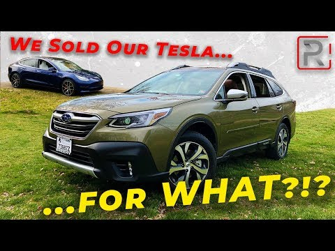 *Garage UPDATE* We Traded Our Tesla Model 3 for... A Subaru Outback?!