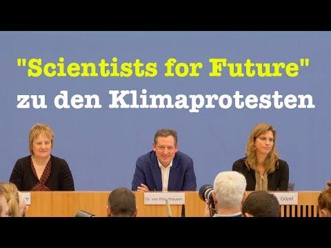 """BPK: """"Scientists for Future"""" zu den Protesten für mehr Klimaschutz - 12. März 2019"""