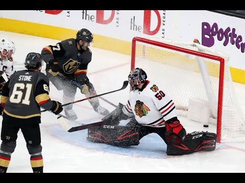Reviewing Blackhawks vs Golden Knights Game One