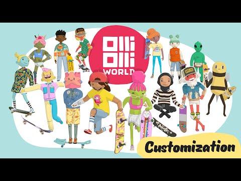 Trailer personnalisation de OlliOlli World