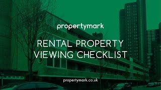 Rental Property Viewing Checklist