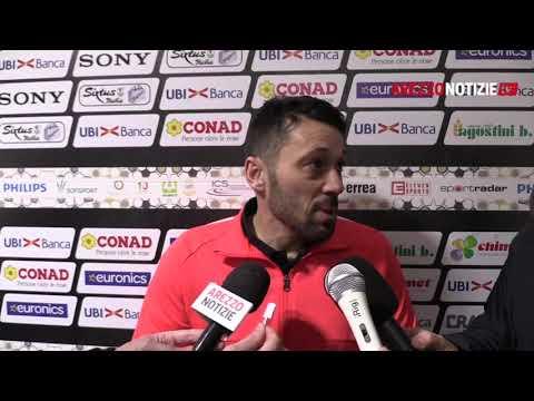 Arezzo-Pianese 0-0, intervista a mister Di Donato