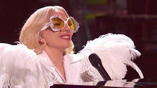 "Video thumbnail of ""Lady Gaga - Your Song (Elton John GRAMMY Salute) (Rehearsal) (January 29th 2018)"""