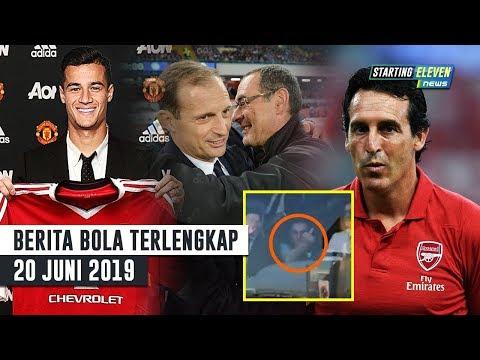 Dosa Sarri Ke Juventini 😡 Countinho Tolak MU 🔥 Emery Jual 3 Pemain (Berita Bola Terlengkap)