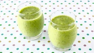 Green Smoothie (Enzyme-Rich Drink Recipe to LOSE WEIGHT) グリーンスムージー (酵素ドリンク ダイエットレシピ)