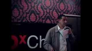 """مداخلة السيد رحال في حدث TEDx Chrea: """"أي أرض لأطفالنا ، وأي أطفال لأرضنا"""""""