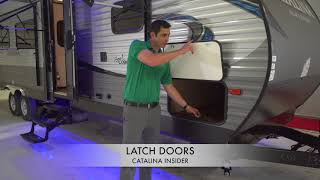 Coachmen Catalina Insider: Latch Doors