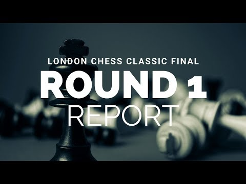 4 queens on the board in London, The London Chess Classic Final - Rd 1