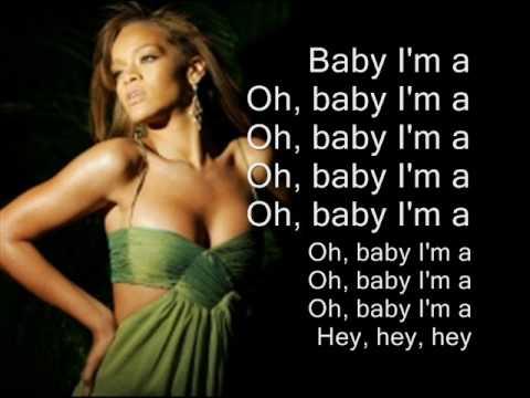 Rihanna - Rockstar 101 Lyrics