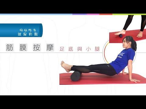 i運動9453痠痛自己救-足底筋膜與小腿