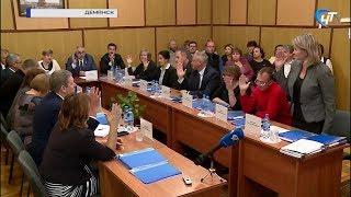 В Демянском районе выбрали двух кандидатов на должность главы муниципалитета