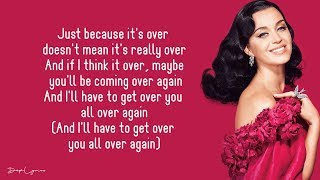 Never Really Over - Katy Perry (Lyrics) 🎵