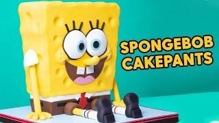 SpongeBob Or CAKE? Sponge On The Run Movie | How To Cake It With Yolanda Gampp
