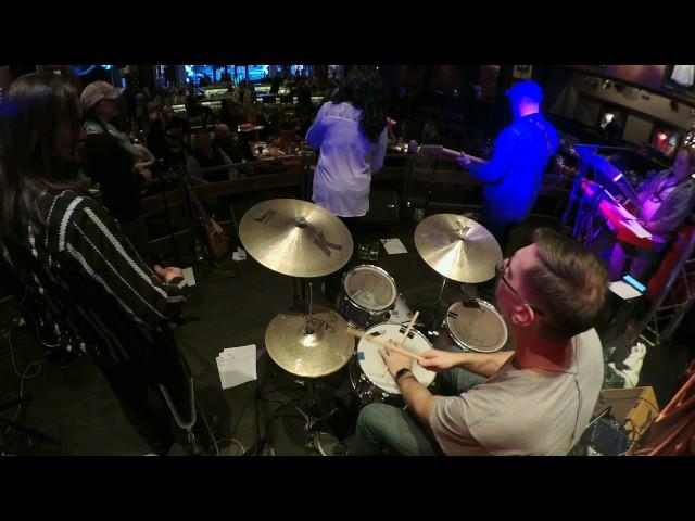 Zoom q2n drum cam Hard rock benefit 12/18/16