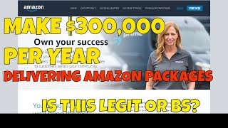 Amazon Wants to Pay You $300,000 Per Year to Delivery Amazon Packages