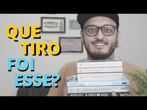 QUE TIRO FOI ESSE - TAG LITERÁRIA | #MeninoQueLe