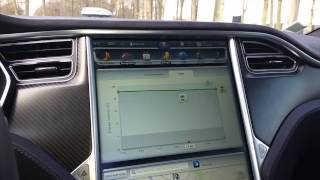 Instruments de bord Tesla Model S