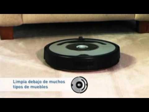 Así funciona el robot aspirador Roomba