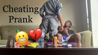 Cheating On Girlfriend Prank *GETS VIOLENT*
