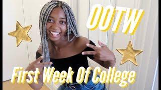 Ootw: First Week Of College
