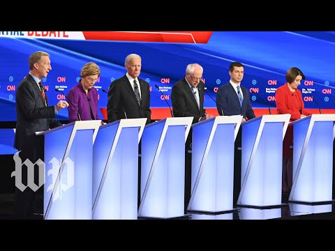 Iran takes center stage at Democratic debate