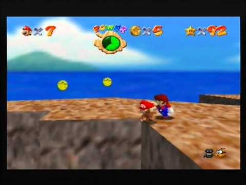 Walkthrough Super Mario 64 : Trop Haute Montagne