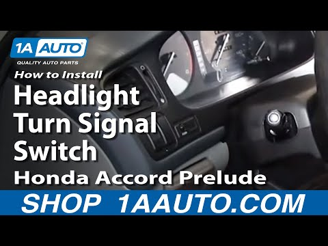 How to Replace Combination Switch 90-95 Honda Accord
